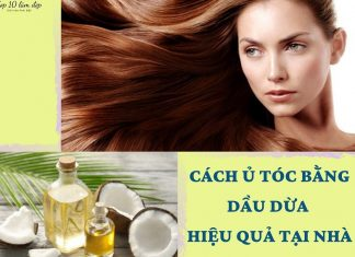 Cách ủ tóc bằng dầu dừa - ảnh: internet