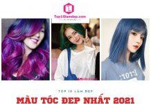 màu tóc đẹp nhất 2021